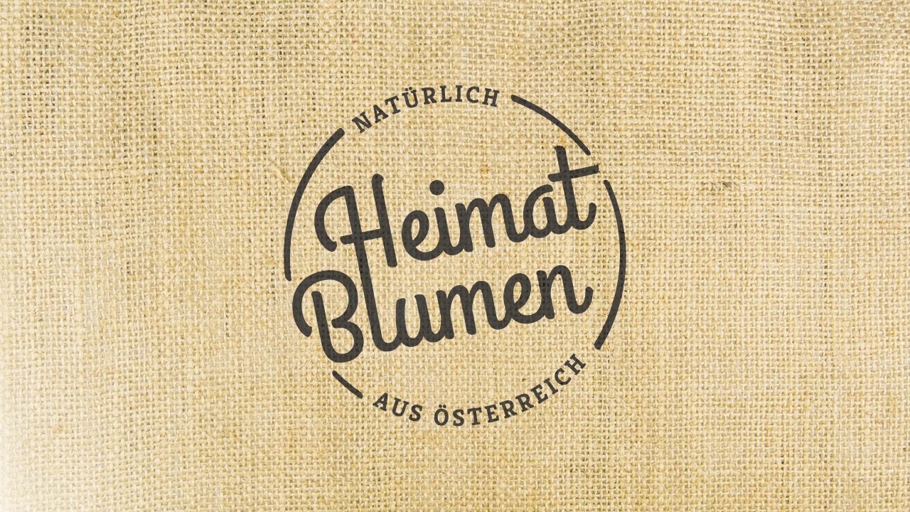 Heimat Blumen Logo