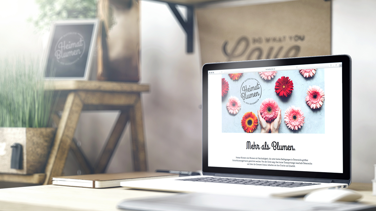 Heimat Blumen Website