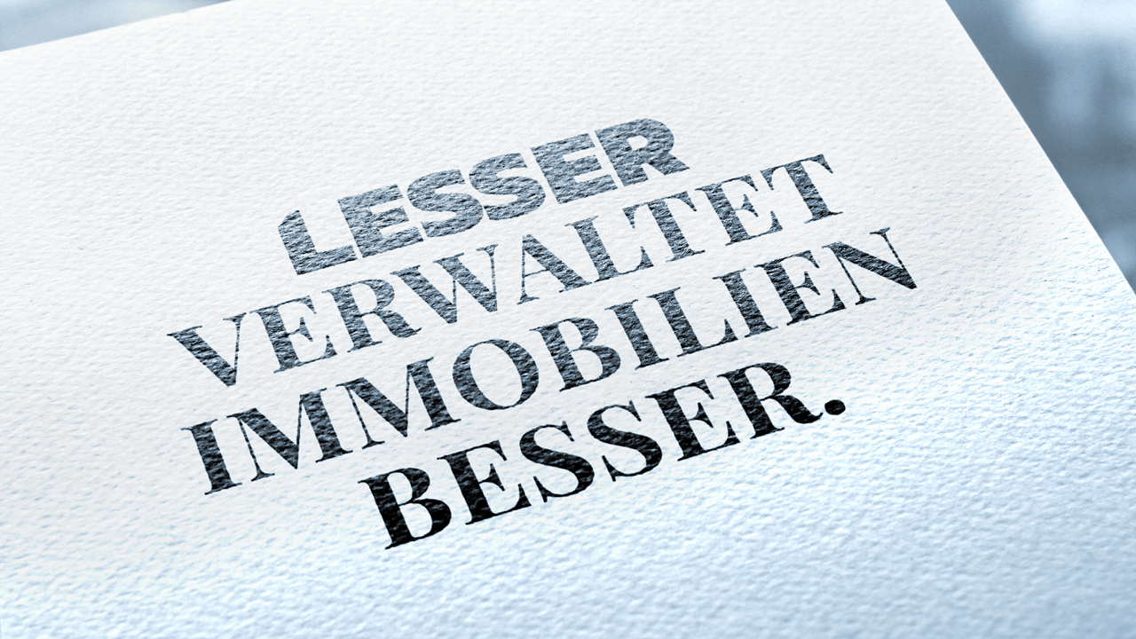 Lesser Wording, Logo, Slogan