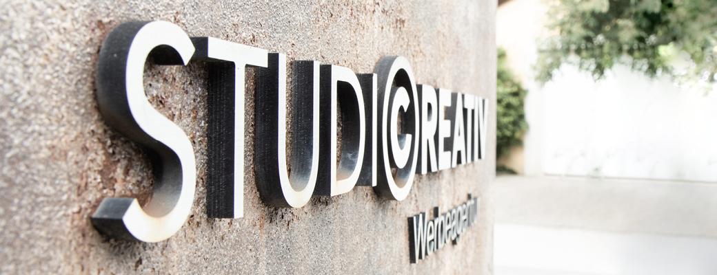 Studio Creativ Werbeagentur Logo Kontakt